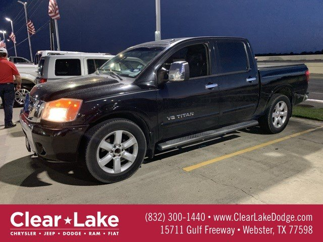 Pre-Owned 2008 Nissan Titan SE